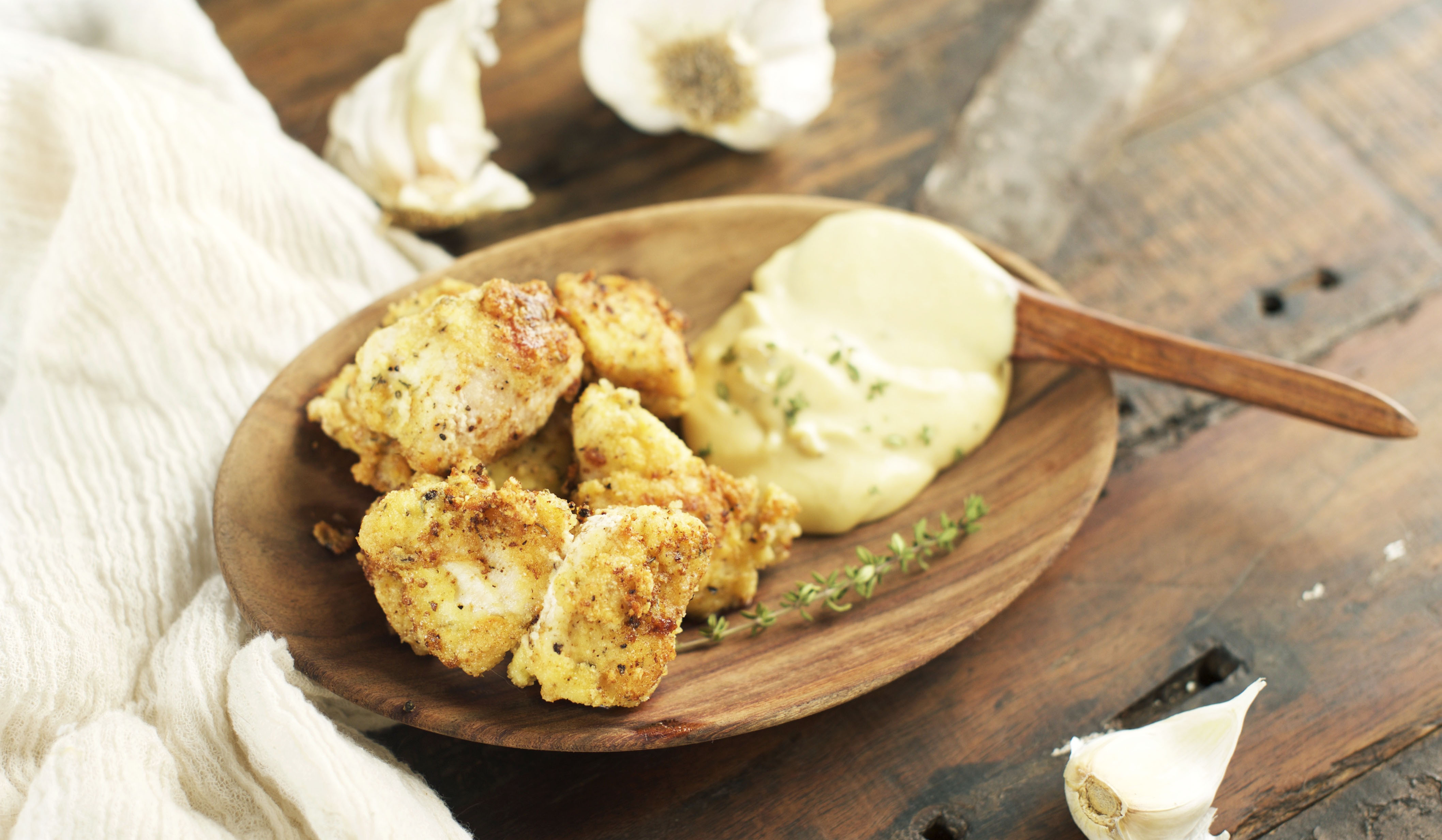 Low-Carb Chicken Nuggets