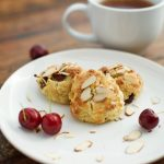 Low-Carb Cherry Almond Scones