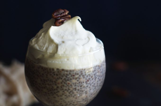 Butter Pecan Chia Pudding