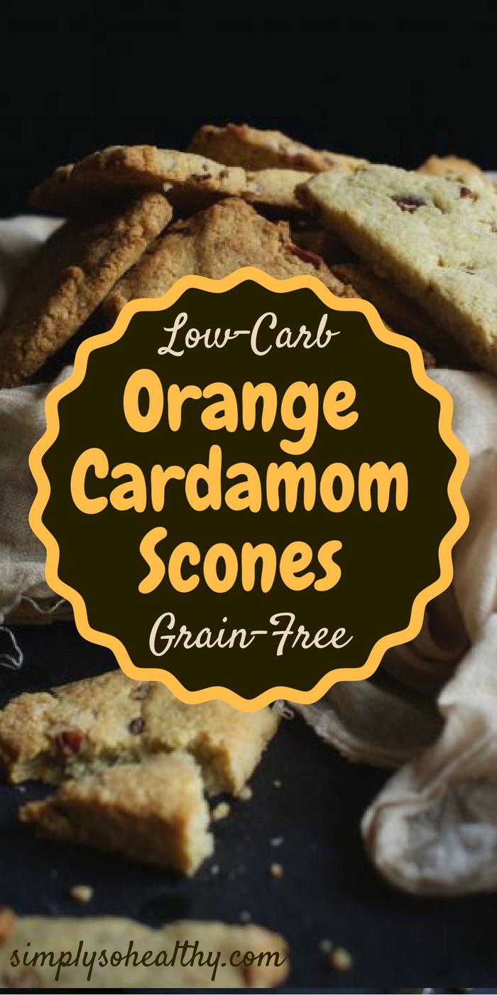 Orange Cardamom Scones