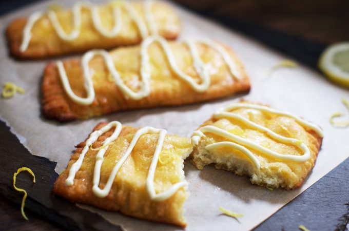 Low-Carb Lemon Danish Pastries