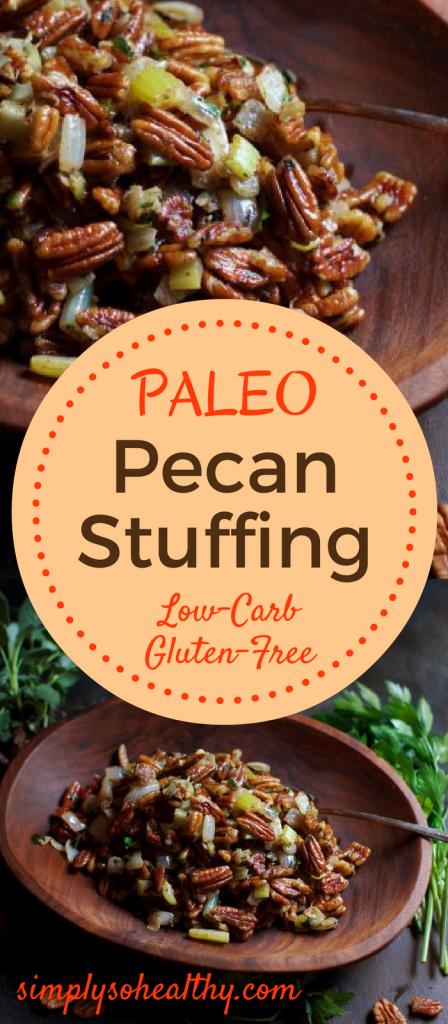Low Carb Pecan Stuffing