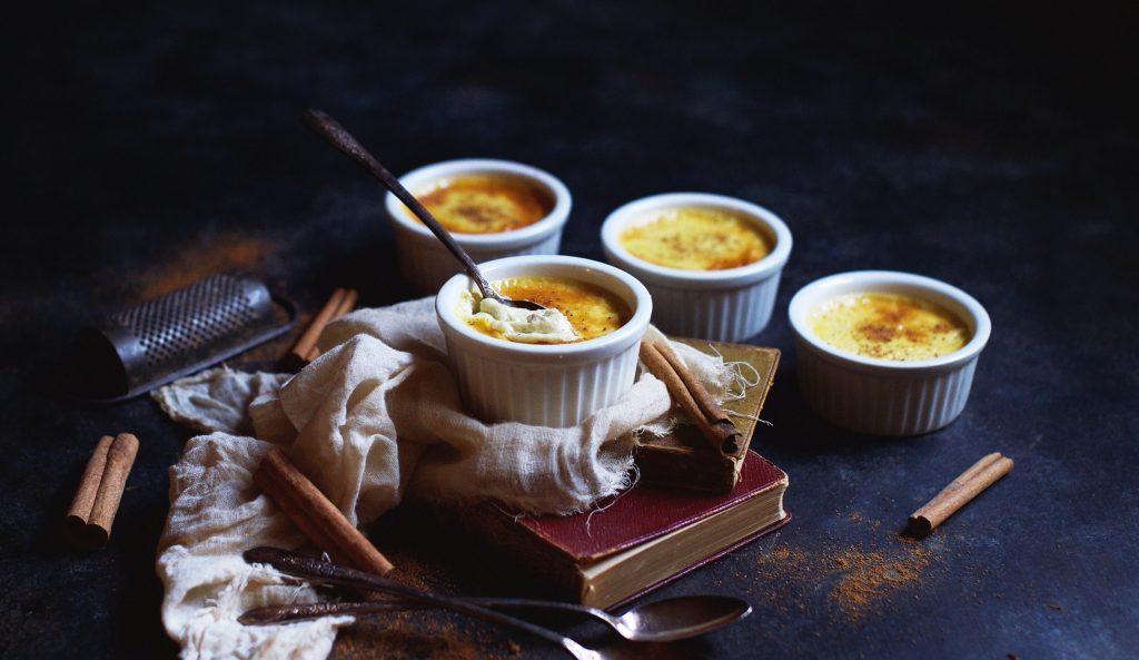 Low-Carb Eggnog Pots de Crème