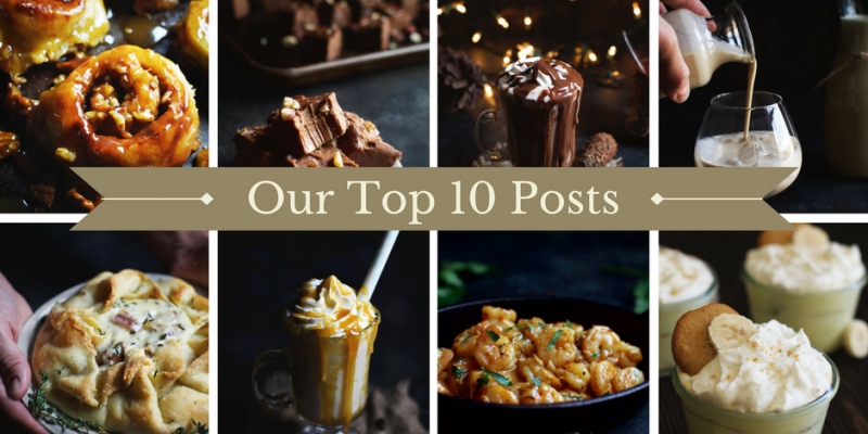 We Survived our First Year!–Our Top 10 Recipes