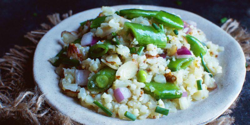 Low-Carb Snap Pea Salad