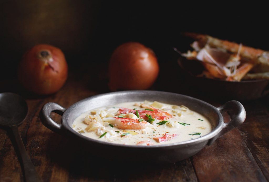 Low-Carb Crab Chowder