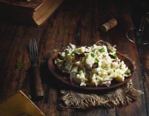 Bacon Cauliflower Salad