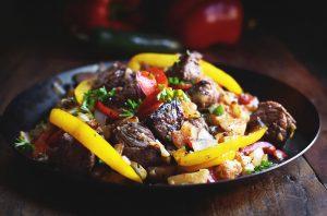 Low-Carb Steak Breakfast Hash