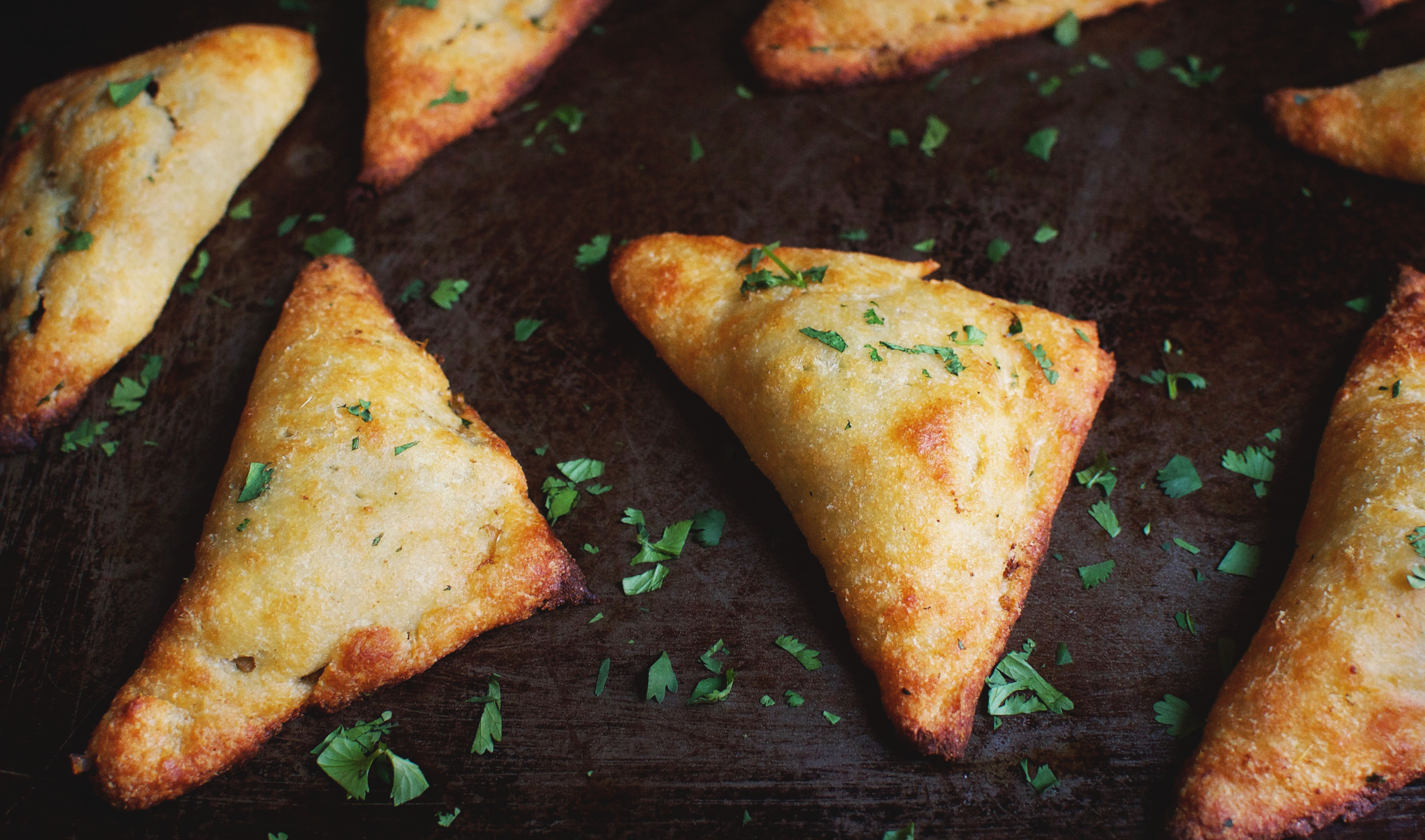Low-Carb Indian Vegetable Samosas Recipe - Simply So Healthy