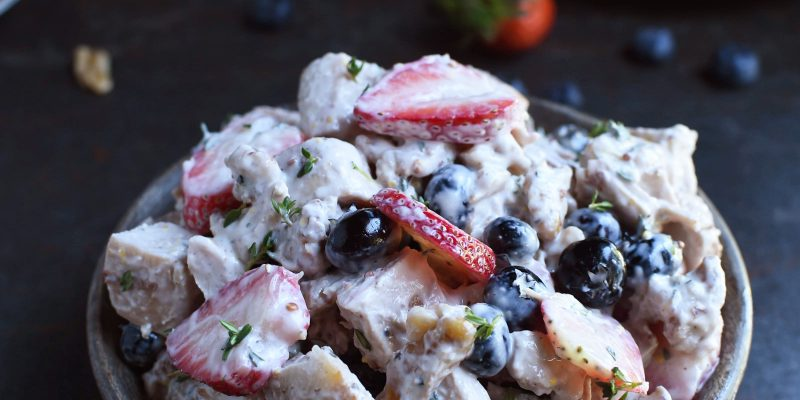 Nut and Berry Chicken Salad