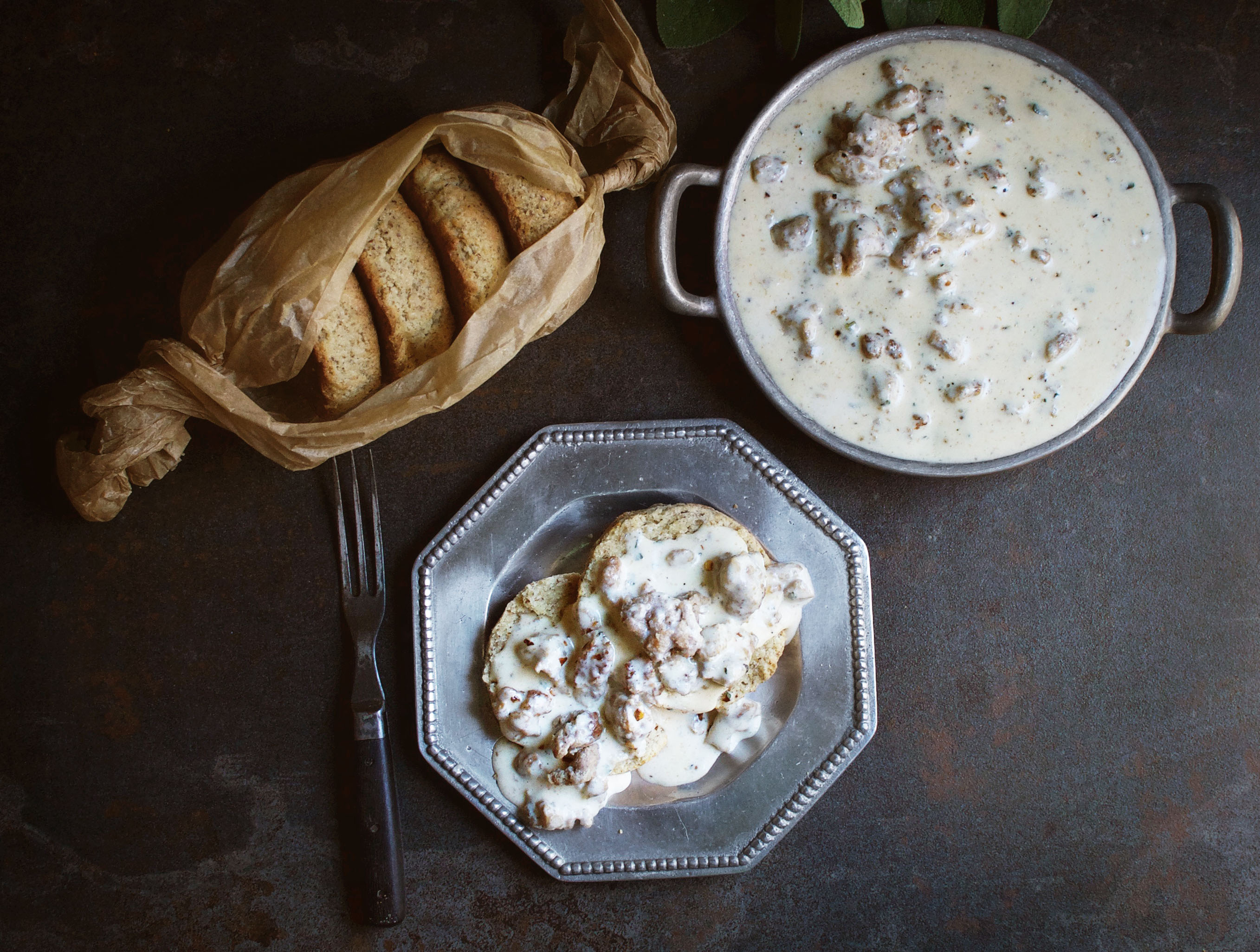 Low-Carb Sausage Gravy
