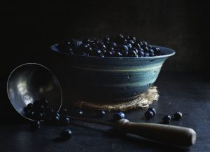 Low-Carb Old Fashioned Blueberry Cobbler