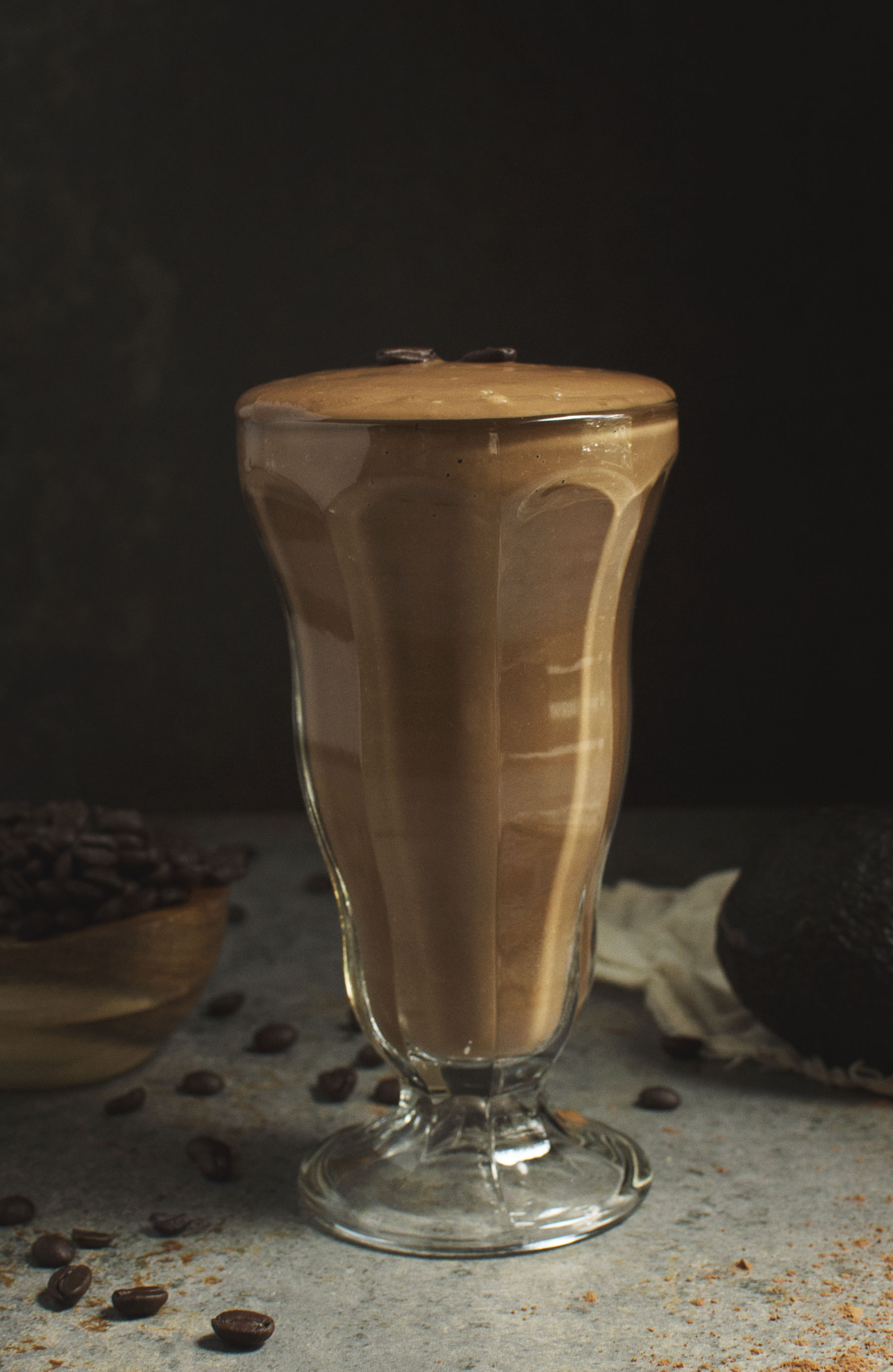 Low-Carb 5 Minute Mocha Smoothie