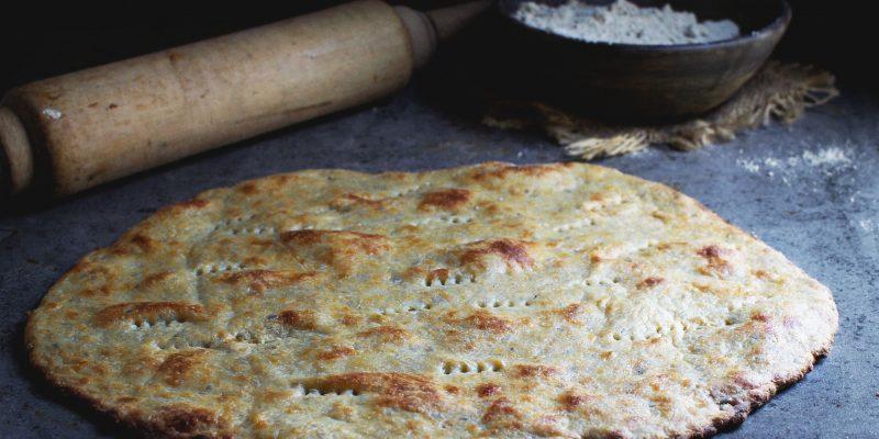 Low-Carb, Nut-Free Pizza Flatbread Crust