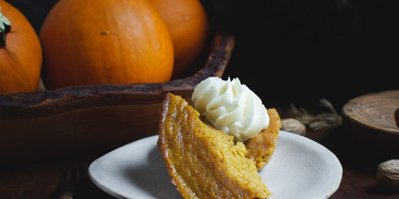 Low-Carb Slow-Cooker Pumpkin Custard