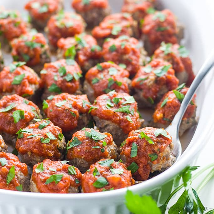 The Best Low Carb Meatball Recipes Simply So Healthy