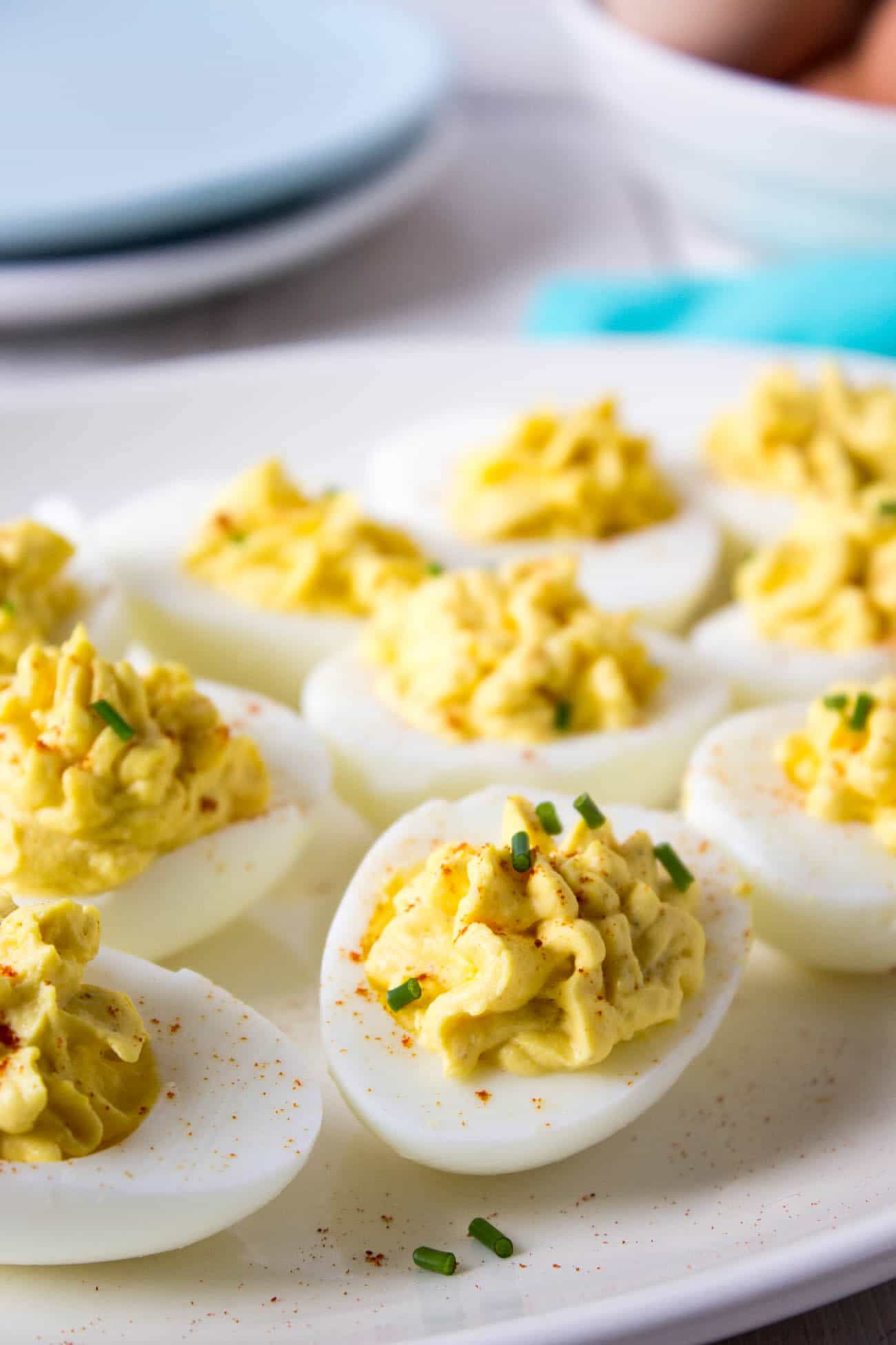 Low-Carb Appetizers: Deviled Eggs