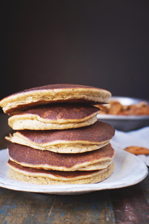 Low-Carb Banana Nut Pancakes-Blender Recipe - Simply So ...