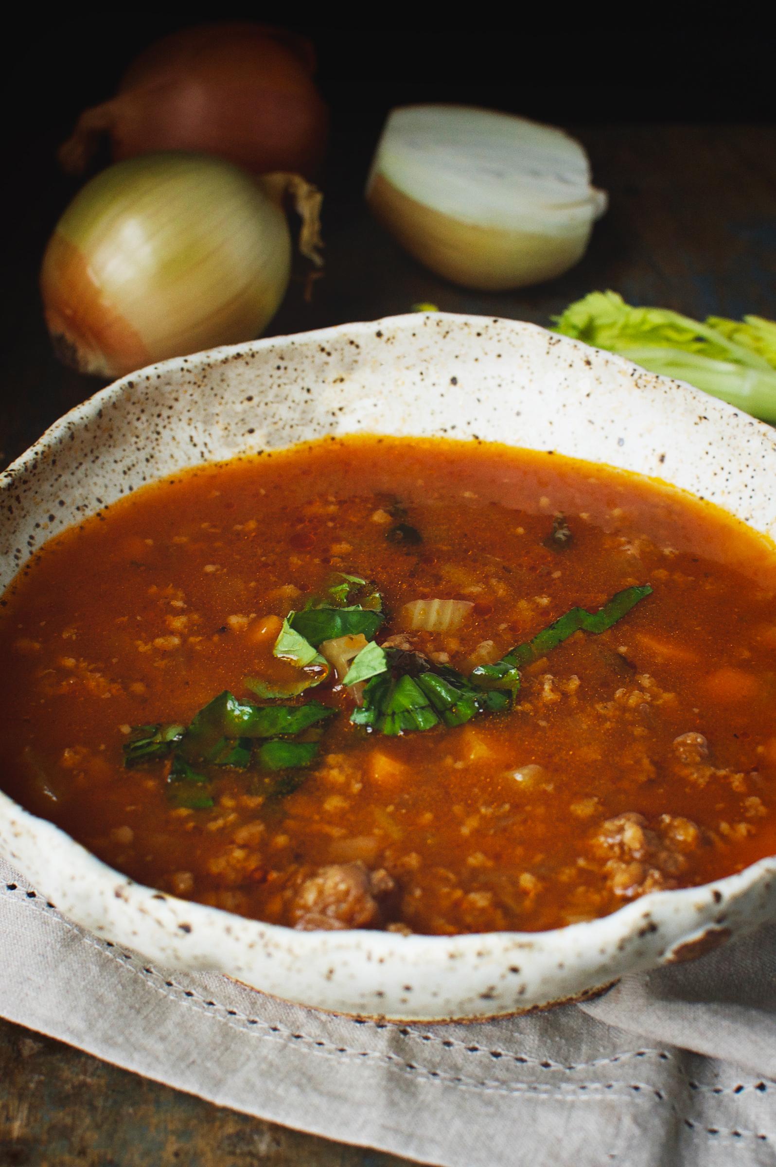 Low Carb Italian Sausage Soup Instant Pot Recipe Simply