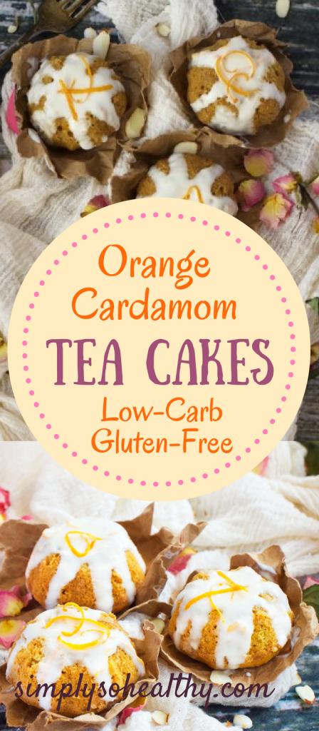 Orange Cardamom Tea Cakes