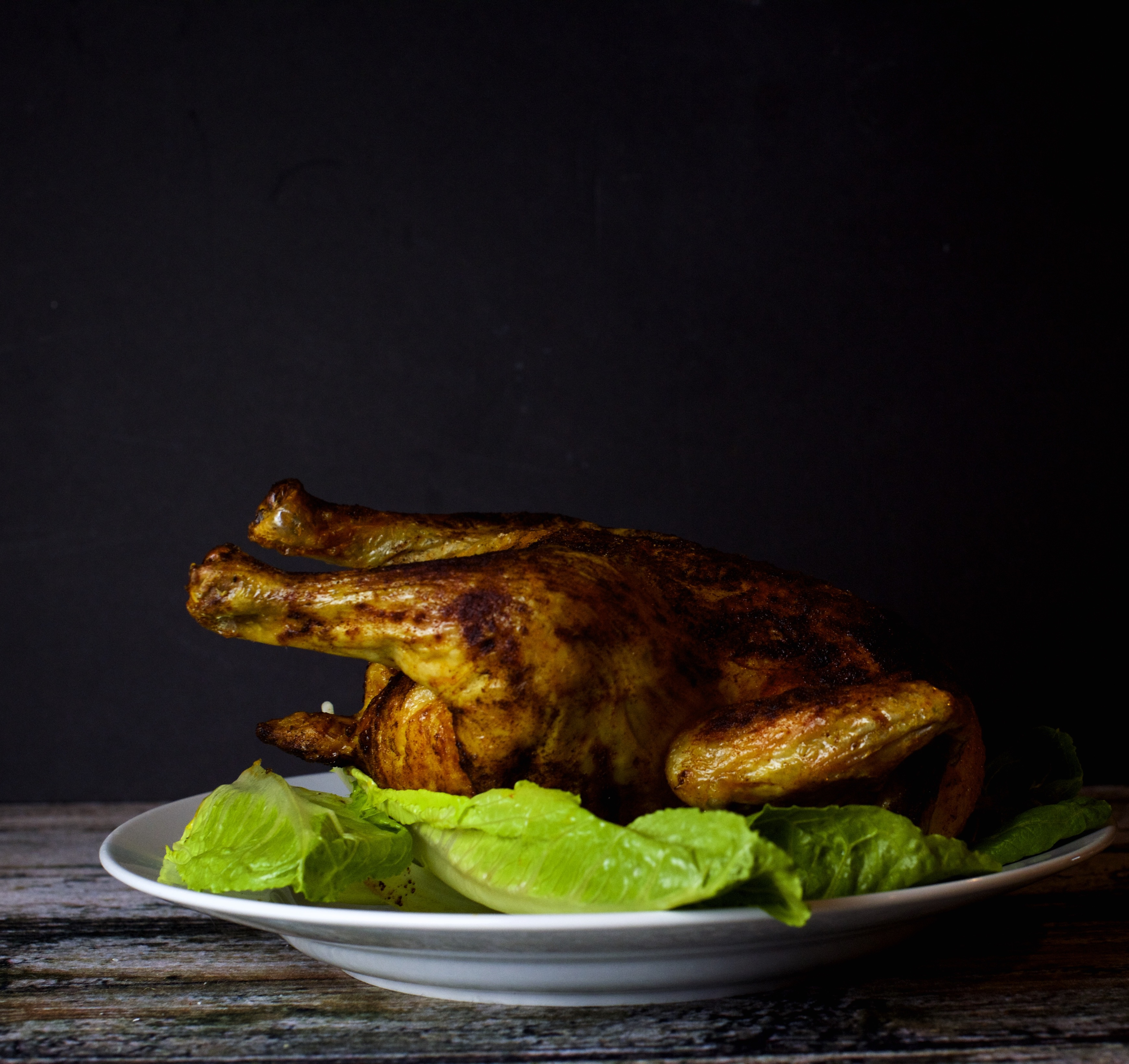 Photo of Paleo Three Ingredient Roast Chicken