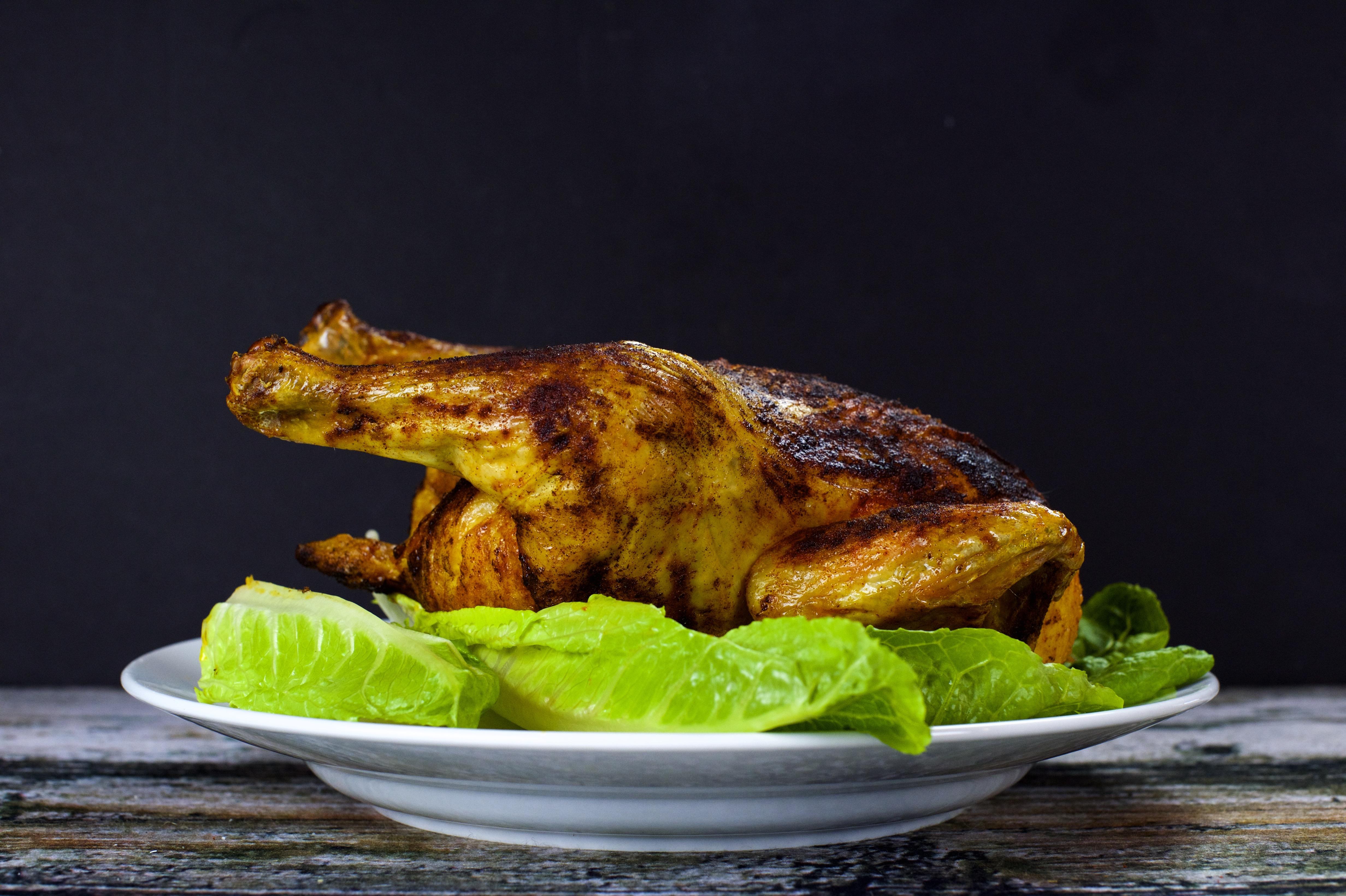 Paleo Three Ingredient Roast Chicken