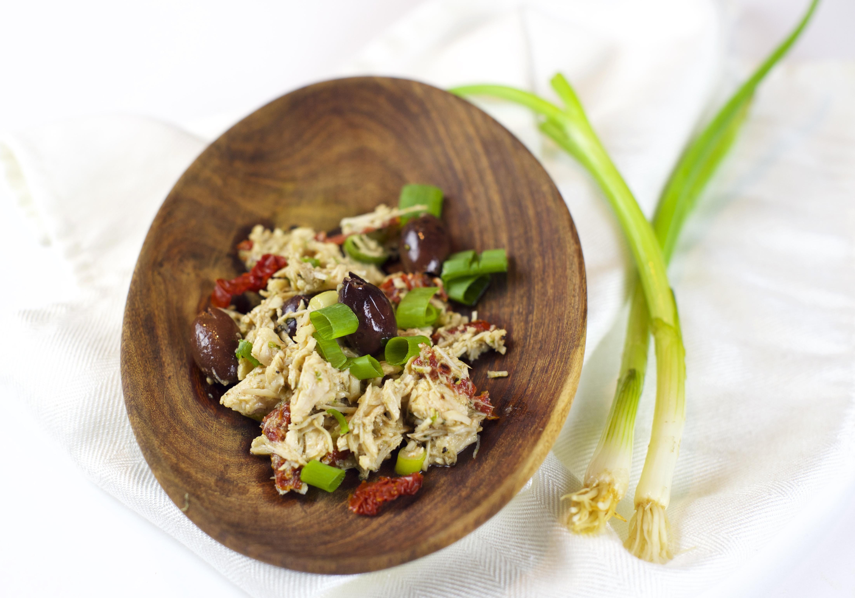 Paleo Mediterranean Chicken Salad