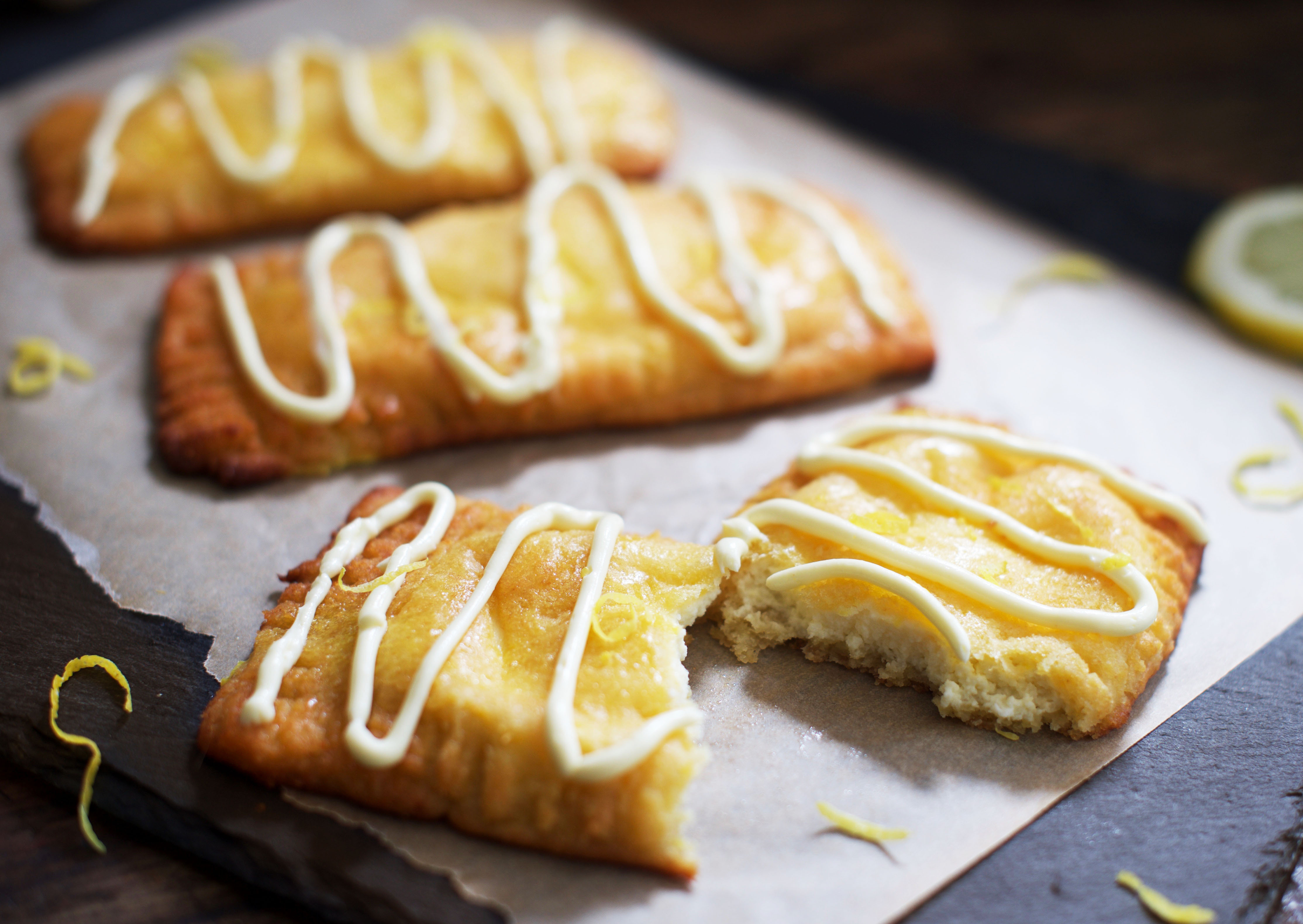 Low-Carb Lemon Danish Pastries