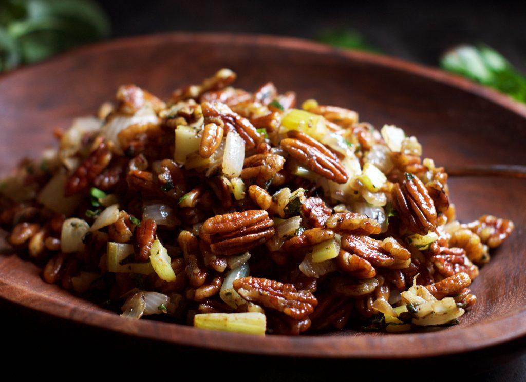 Low-Carb Pecan Stuffing