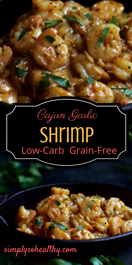 Low-Carb Cajun Garlic Shrimp