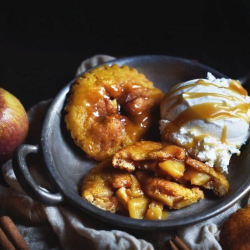 Low-Carb Apple Pastries