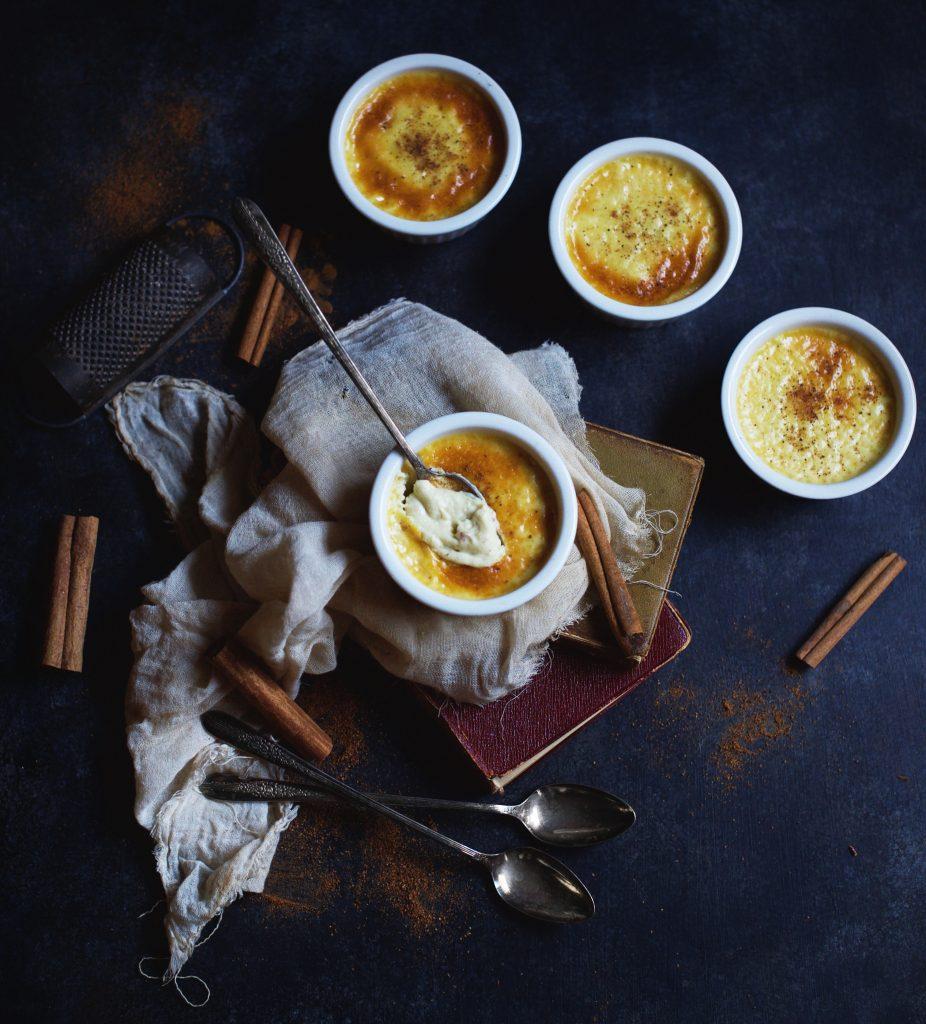 Low-Carb Eggnog Pots de Creme