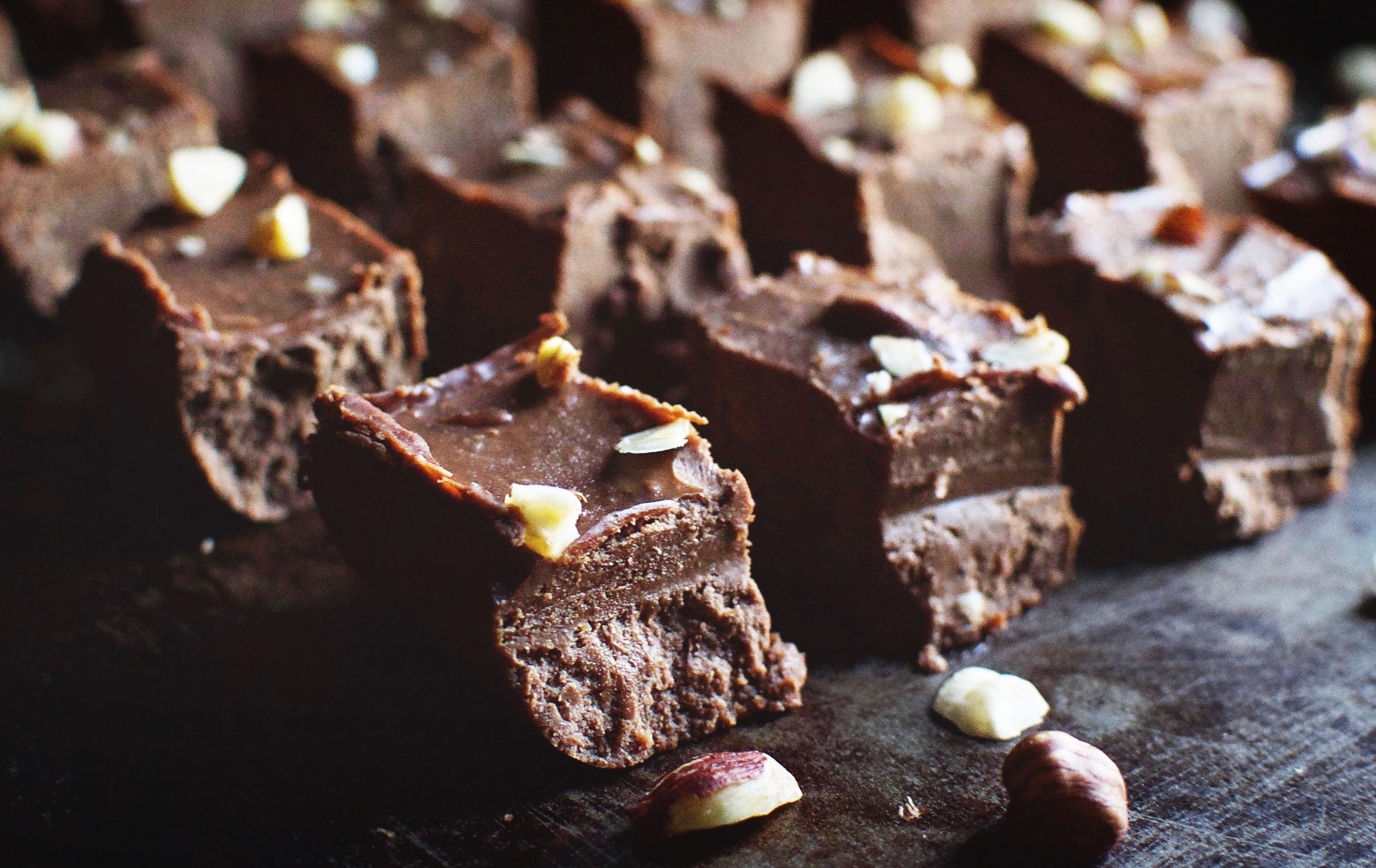 Low Carb Homemade Nutella Fudge Recipe Simply So Healthy