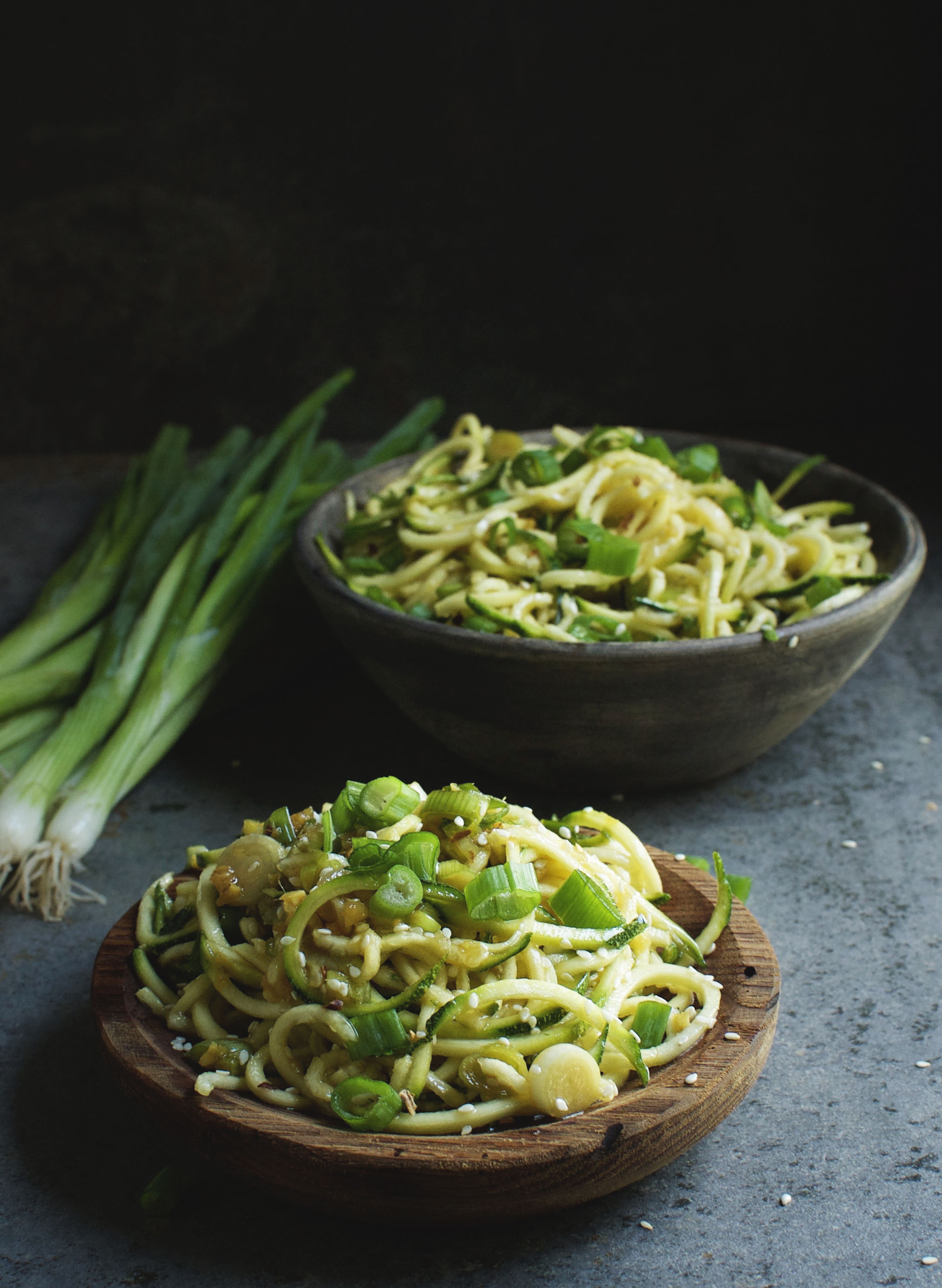 Low-Carb Asian Noodles Recipe - Simply So Healthy