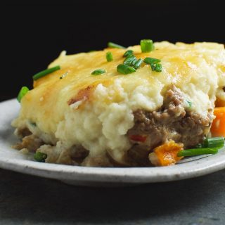 Low-Carb Creamy Cottage Pie