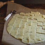 Low-Carb Rosemary Parmesan Crackers