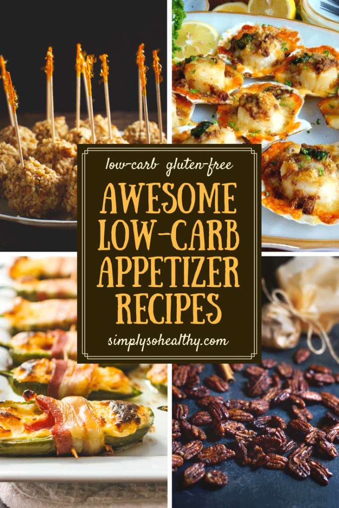 Low-Carb Appetizer Recipes for the Holidays