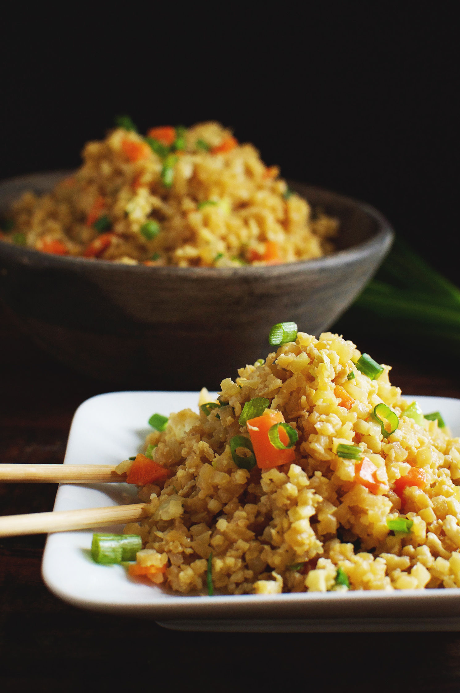 Easy Low Carb Cauliflower Fried Rice Recipe Simply So Healthy