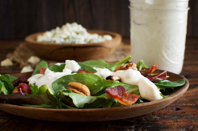 Low-Carb Blue Cheese Dressing (Dip)