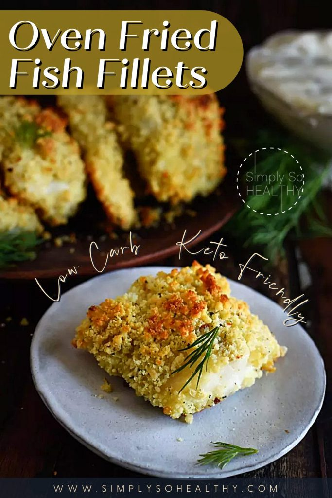 Oven Fried Fish Fillets recipe