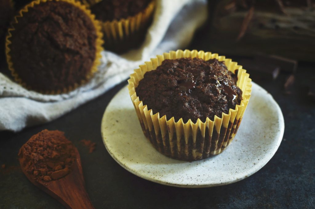 Low-Carb Double Chocolate Muffins Recipe