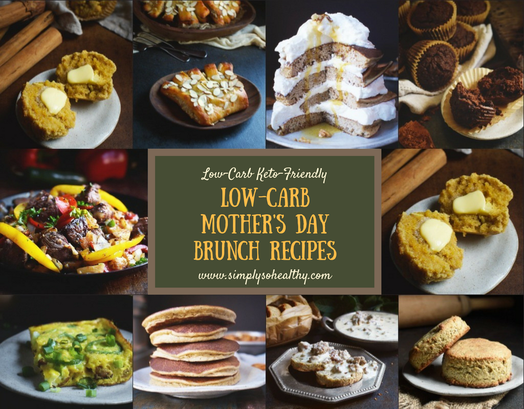 Low-Carb Mother's Day Breakfast and Brunch Recipes