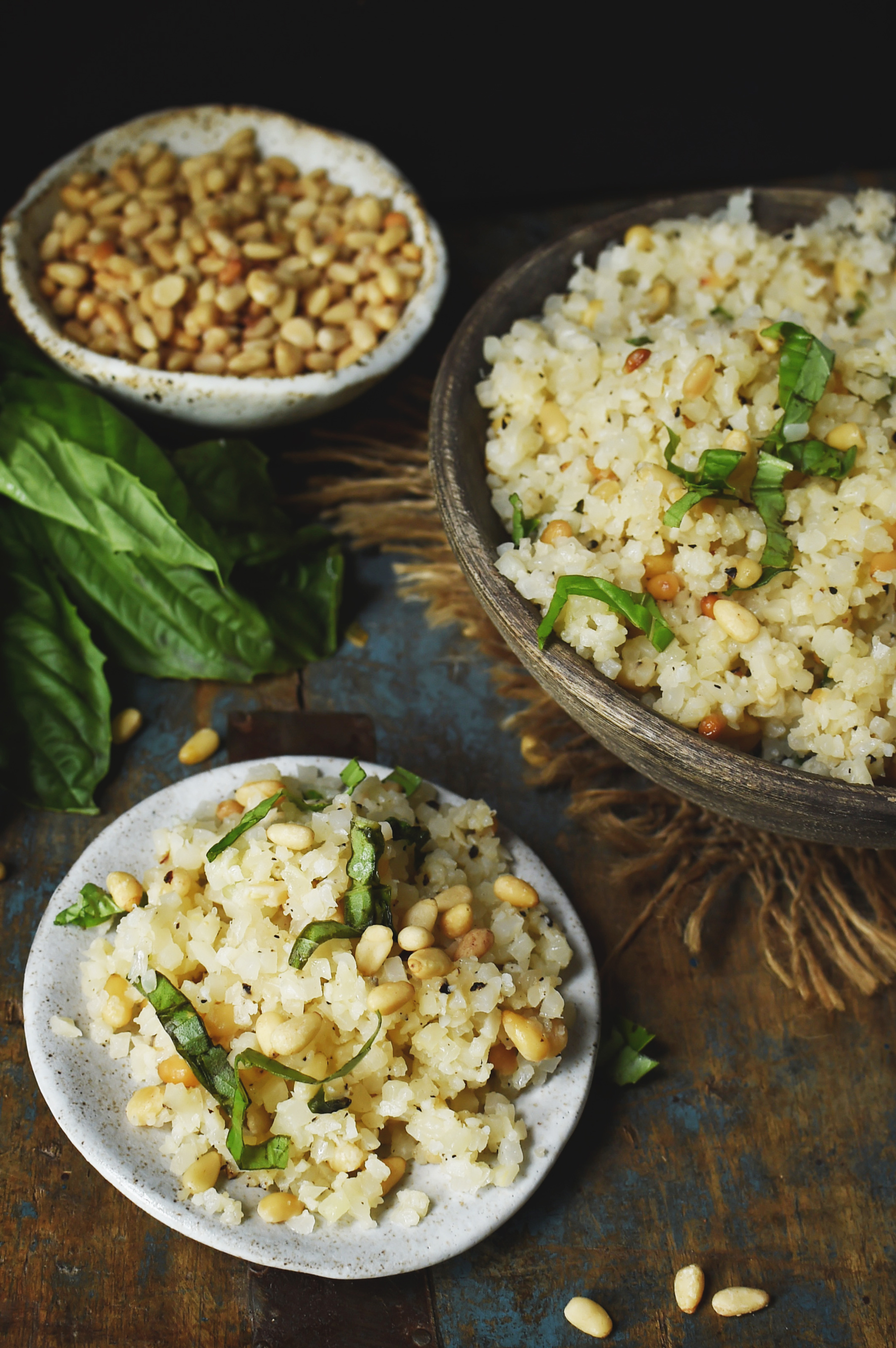 Cauliflower Rice Pilaf Recipe-Ready to eat.