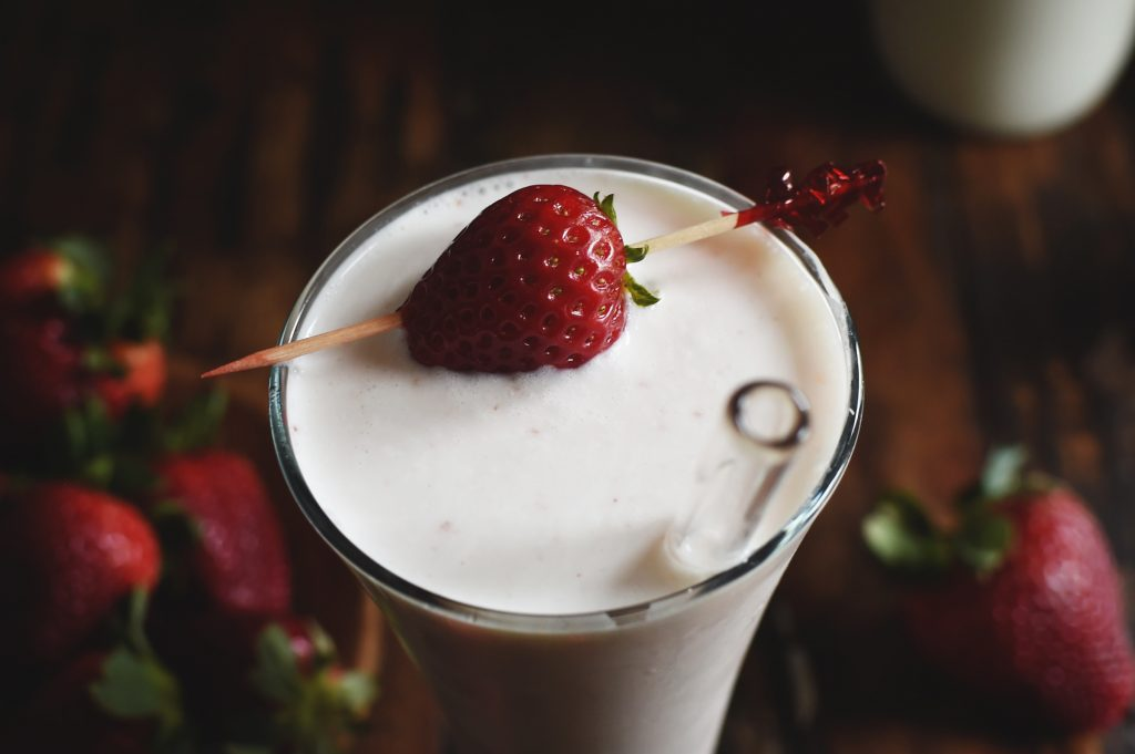 Low-Carb Strawberry Italian Cream Soda Recipe