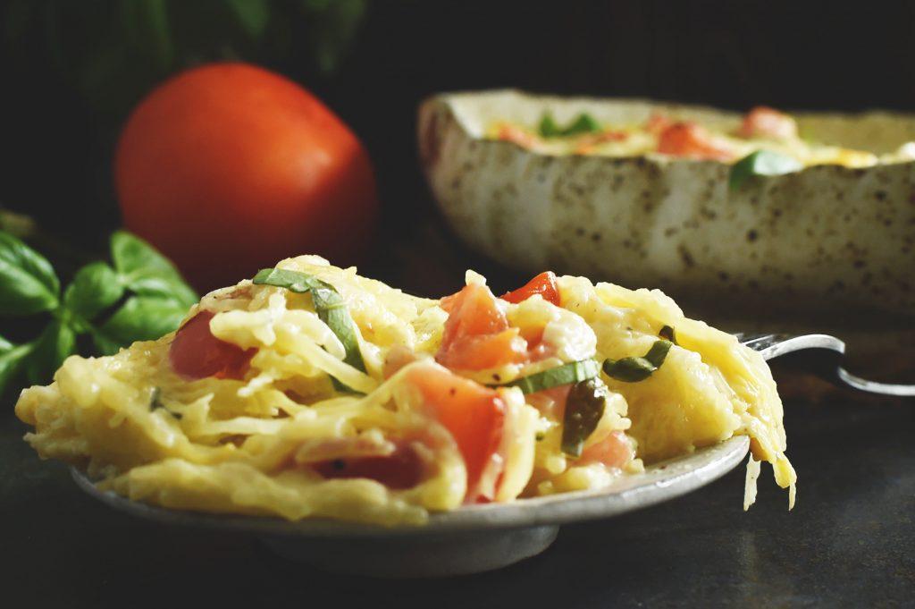 Italian Low-Carb Spaghetti Squash Casserole Recipe