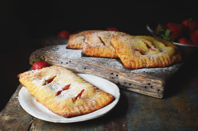 Low-Carb Strawberry Pastries Recipe
