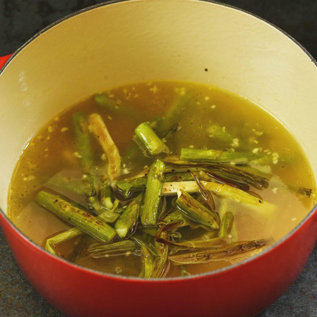 Soup Recipes Asparagus: Low-Carb Cream Of Roasted Asparagus Soup Recipe