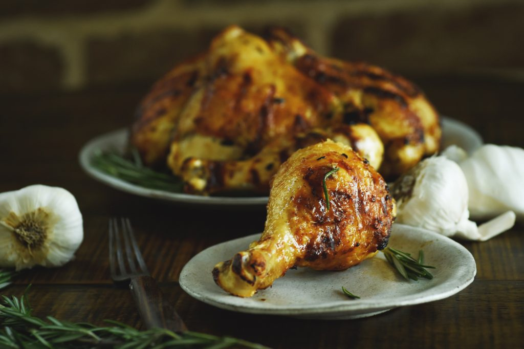 Grilled Rosemary Lemon Chicken Recipe