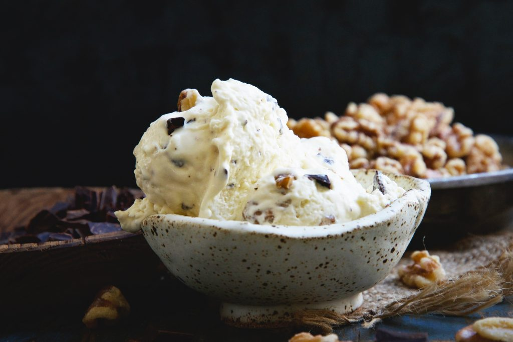 Keto-Friendly Chunky Monkey Ice Cream