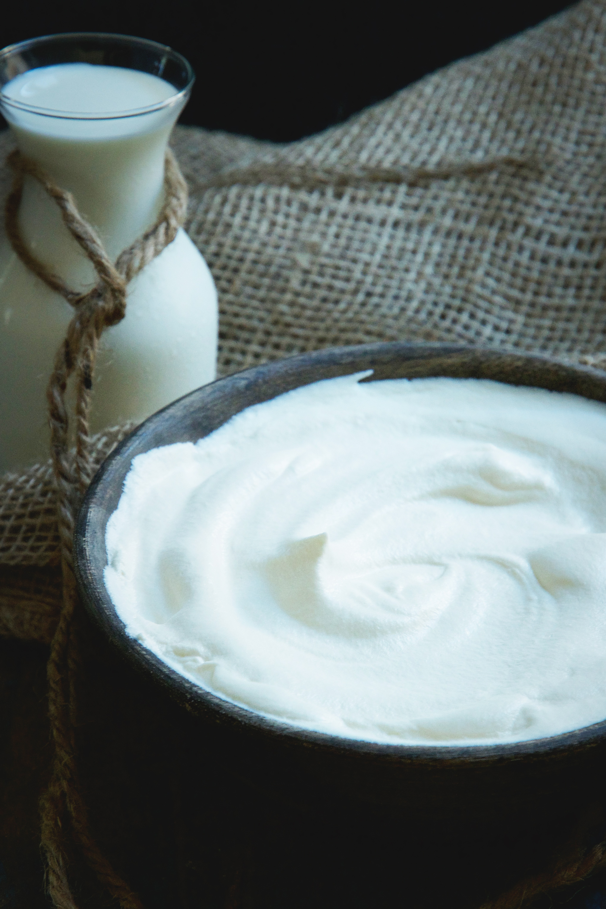 Low-Carb Maple Whipped Cream